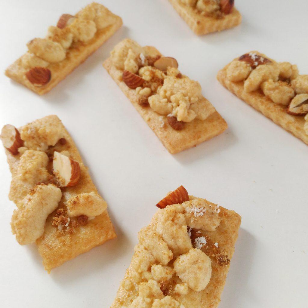 黒糖とゲランド塩のそぼろクッキー4
