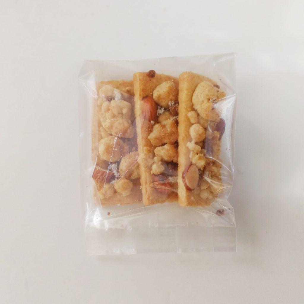 黒糖とゲランド塩のそぼろクッキー3